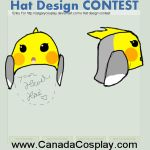 Cockatiel hat design v2 by bobismyname1