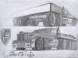 Mc Fire Star Truk concept by theTobs