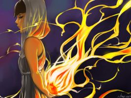 Burning Heart by NSABY