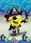 SpongeBOB the Pirate by m0rphzilla