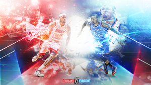 LBJ vs KD by DrDreInDAMIX