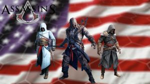 Assassin's Creed III Wallpaper by Wretched--Stare