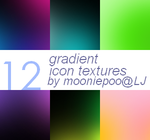 Gradient icon textures by Mooniii