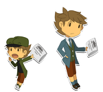 The Paperboy and the Reporter by IgnebrisFox