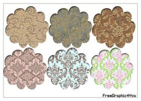 Damask Pack Pattern 10 by Kihaad