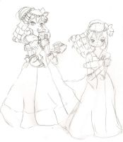 Daniella Sketches, one is a concept by Sakurarmarie