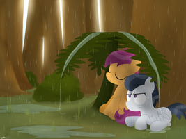 First Date (Isolated Showers) by postcrusade