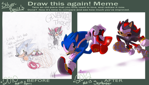 DeviantART CE: Good Luck buddy! by SilverSonic44
