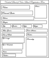 My Blank Student Sheet by Chanytell