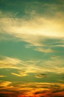 Sky, Clouds, Sun by robotwithatightass