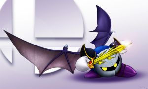 Meta Knight by Dirtydan88