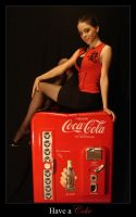 -+- Coke Pin Up  -+- by KellyLMartellPhoto