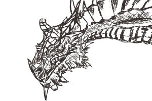 skyrim dragon 2 wip by bravo9653