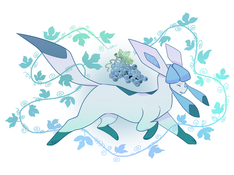 Concord Grape Glaceon by of-airis