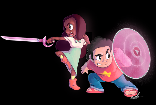 Steven and Connie by Em-Bani