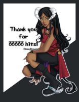Thank you for 33333 hits by ebonydragon