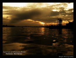 Kapuas River by indonesia