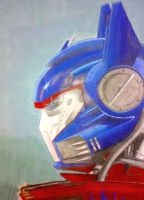 Optimus Prime by vishalnageshkar