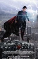 Man Of Steel Theatrical poster #4 by zviray
