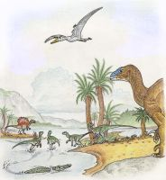 Dinosaurs of the Wealden Formation by alexine-pankhurst