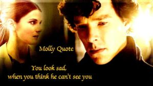 Molly Hooper Quote by Into-Dark