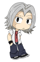 Gokudera Hayato- Commish by Flaframur