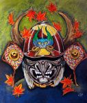 Samurai Mask by dx