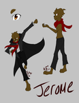 Jerome Ref [Falling to Rise] by CATtheDrawer