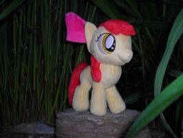 Applebloom Minky Plush prototype finished 2 by JusticeOfElements