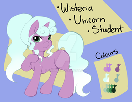 Wisteria Updated Reference by quila111