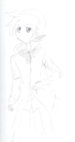 Servant of Evil Len Sketch Fail by MMDCousins