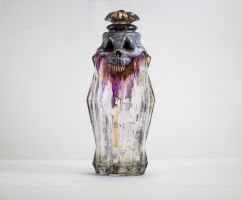 A strange Creepy Bottle Front by FraterOrion