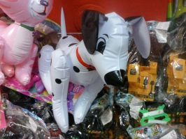 Inflatable Dalmatian Dog Toy by PoKeMoNosterfanZG