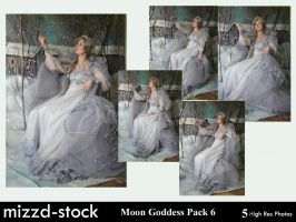 Moon Goddess Pack 6 by mizzd-stock