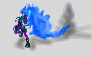 Cause Pop has been feeling like a Ghost by Euphobea
