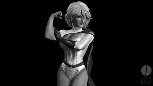 Kara - Black and White by PhotoshopIsMyKung-Fu