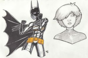 The Batgirl by pinchback