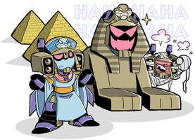 Egyptian Blitz by kouno-B