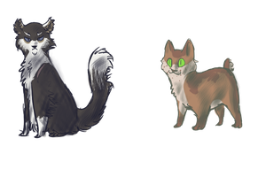Oh the Kitties by Tamway-Doyle