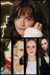 Alexis Bledel Collage by theclartis