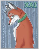 Xai Matrix Themed Badge by Articuno