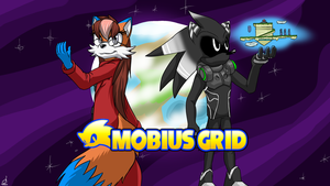 Comm Ninsego: Mobius Grid Title Screen by prdarkfox