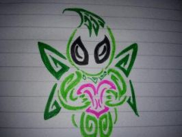 Tribal Celebi 2 by AwyrSente