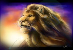 the Lion by Ti-R