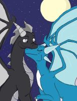 Love Under the Moon by Chibi-Dragoness