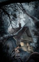Cabin in the woods by One-Alucard
