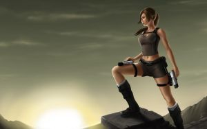 Lara Croft by spirit815