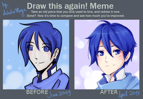 Draw this again meme by AshitaMaya