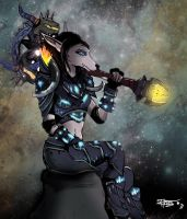 Worgen Deathknight by Tempestus1