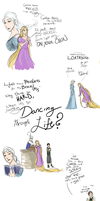 Crossover: Frozen meets Wicked by ZombieOwl